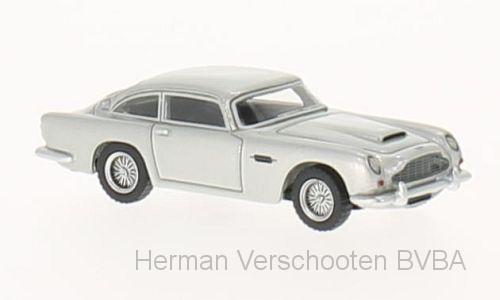 BOS87205  Aston Martin DB5, zilver, Bos