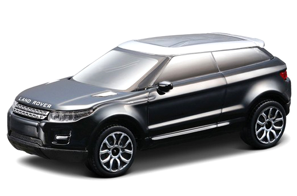 18-30214B  Range Rover Evoque LRX 2010, zwart, Bburago