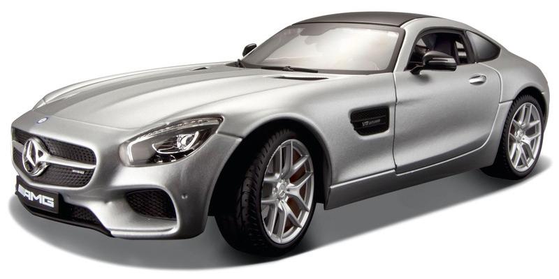 31134Z  Mercedes-Benz AMG GT, Zilver, Maisto
