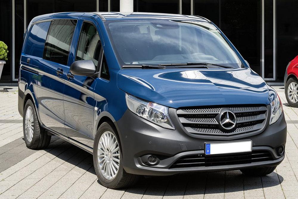 B66004146  Mercedes-Benz Vito bestelwagen 2014, blauw, Norev