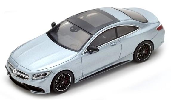 S4917  Mercedes-Benz S63 AMG Coupé 2016, zilver, Spark
