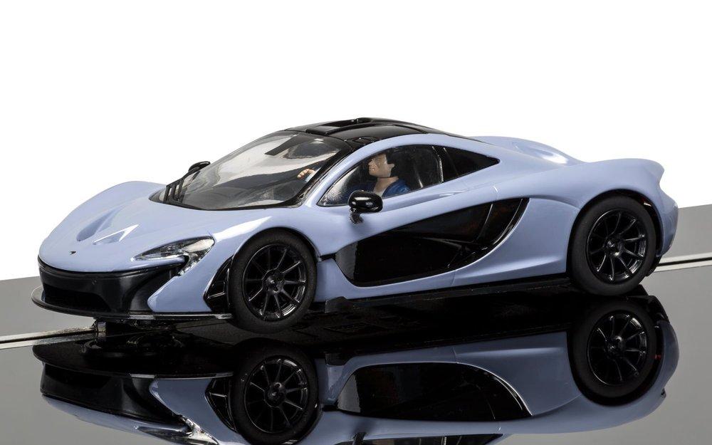 3877  McLaren P1 Keramiekgrijs, Scalextric