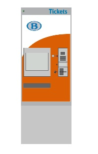 "Ticketautomaat ""Mobility NMBS (B)"", Rietze"