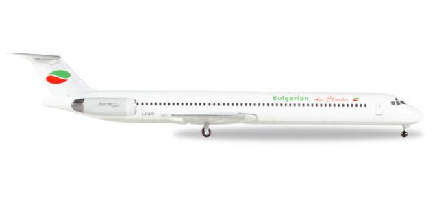 "530392  McDonnell Douglas MD-82 ""Bulgarian Air Charter"", Herpa Wings"