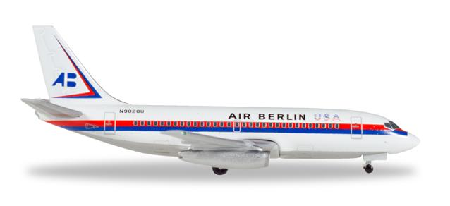 """530453  Boeing 737-200 """"Air Berlin USA"""", Herpa Wings"""