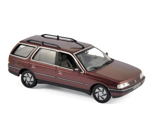 474552  Peugeot 405 Break 1991, Alhambrarood, Norev