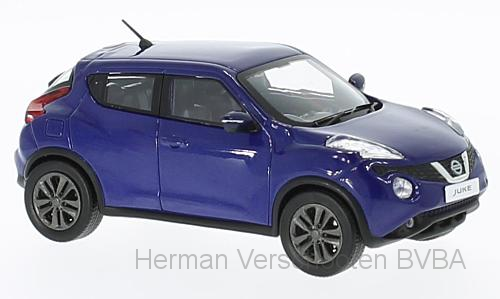 F43-047    Nissan Juke 2015, blauw, First 1:43 Models