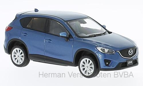 F43-074    Mazda CX-5 2013, blauw, First 1:43 Models