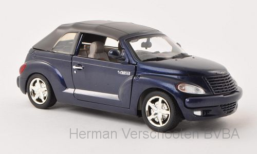73295  Chrysler PT Cruiser Convertible, blauw, Motor Max