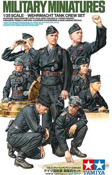 35354  Wehrmacht Tank Crew, Tamiya