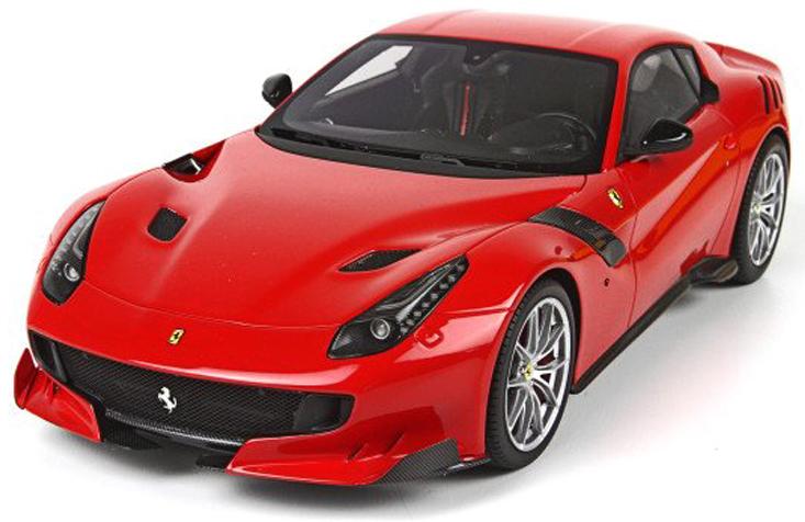 18-26021  Ferrari F12 TDF, rood, Bburago