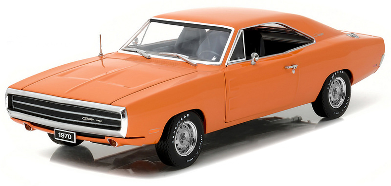 19028    1970 Dodge Charger 500, oranje, Greenlight