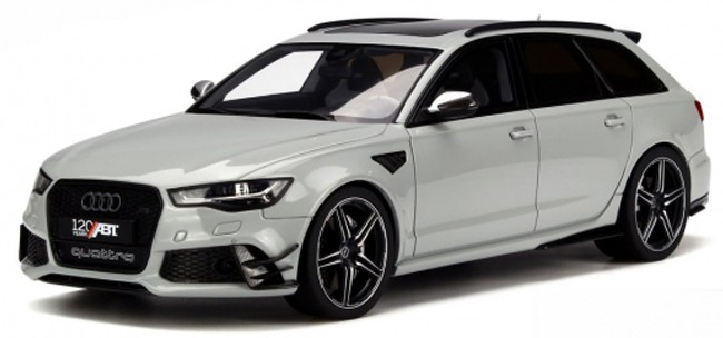 GT158  Audi ABT RS6-R, zilver, GT Spirit