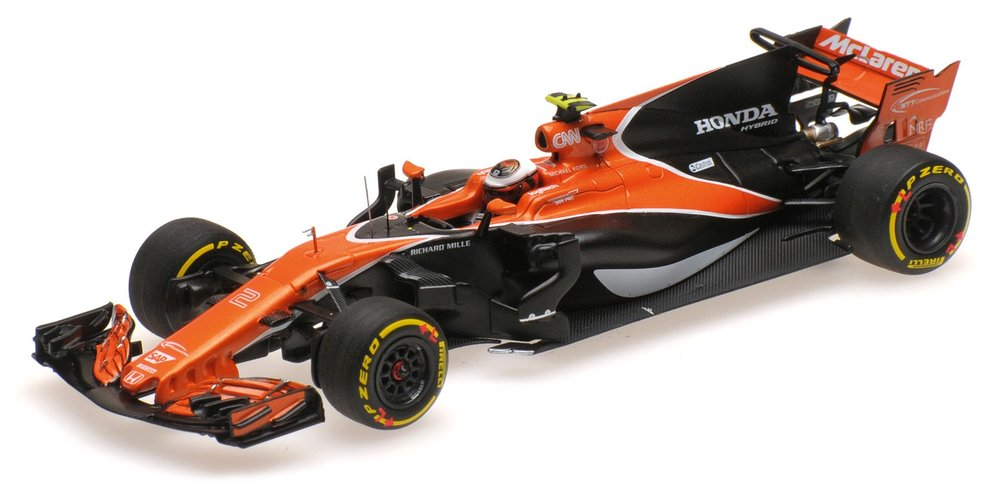 """537174302  McLaren Honda MCL32 F1 """"Stoffel Vandoorne 2017"""", Minichamps"""