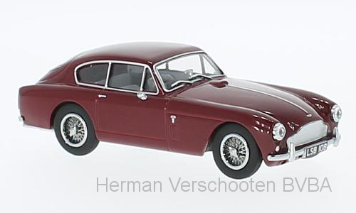 AMDB2003    Aston Martin DB2 MkIII, Saloon Peony Red, Oxford