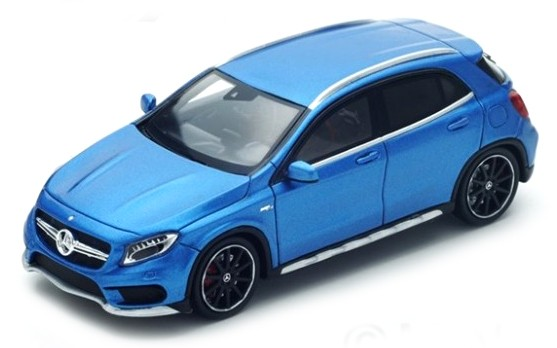 S4912  Mercedes-Benz GLA 45 AMG 2015, blauw, Spark