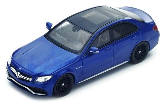S4913  Mercedes-Benz AMG C63S 2016, blauw, Spark