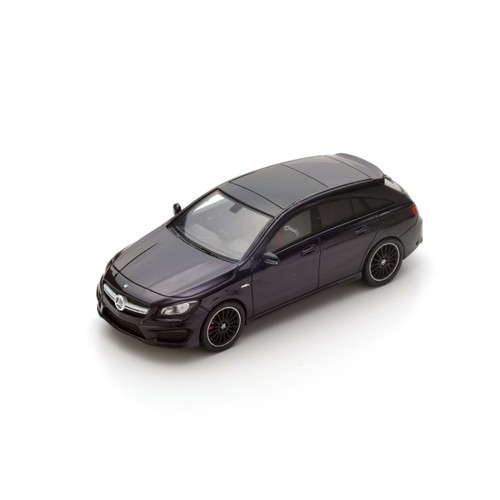 S4980    Mercedes-Benz CLA 45 AMG Shooting Brake 2015, zwart, Spark