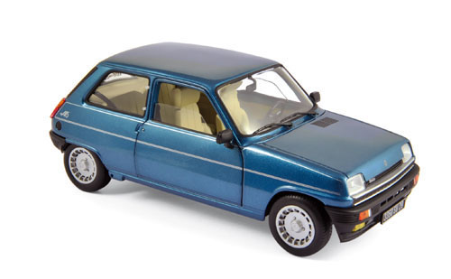 185157    Renault 5 Alpine Turbo 1981, Navy Blue, Norev