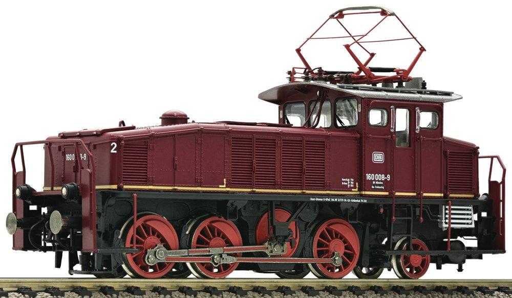 436073  E Lok BR 160 rot Verschublok DCC/SOUND