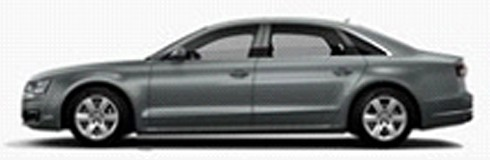 501.17.081.31  Audi A8 L 2017, grijs, Spark