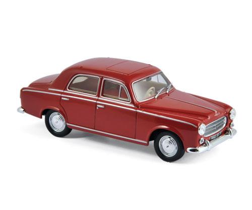 474331  Peugeot 403 1963, rood, Norev