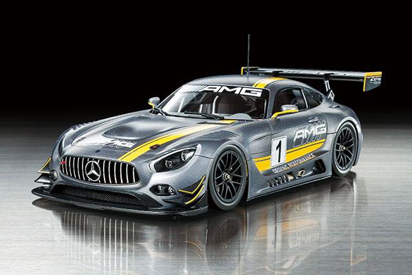 24345  Mercedes-Benz AMG GT3, Tamiya