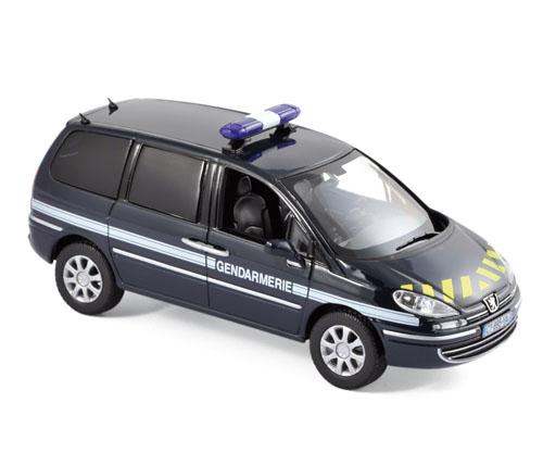 "478708  Peugeot 807 2013 ""Gendarmerie"", Norev"