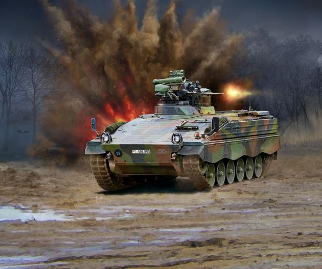 3261    SPz Marder 1A3, Revell