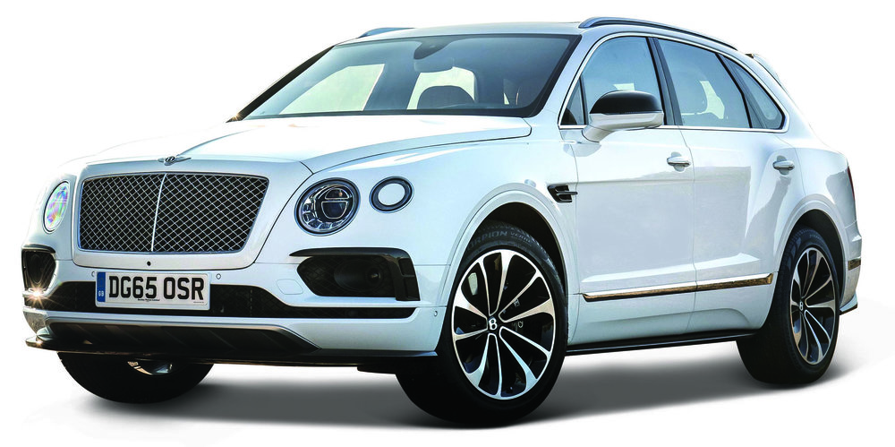 18-30384W    Bentley Bentayga, wit, Bburago