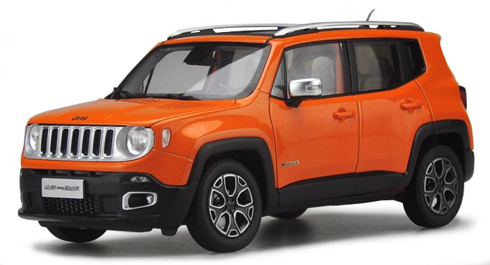 18-30385O  Jeep Renegade, oranje, Bburago