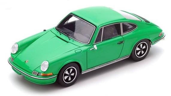 S4925  Porsche 911 2.4S 1972, groen, Spark
