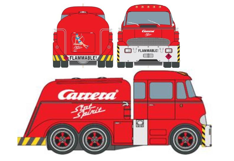"30822  Carrera Tanker ""Slot Spirit"", Limited Edition 2017, Carrera"