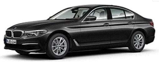 80432413789  BMW 530i (G30) 2017, grijs, Kyosho
