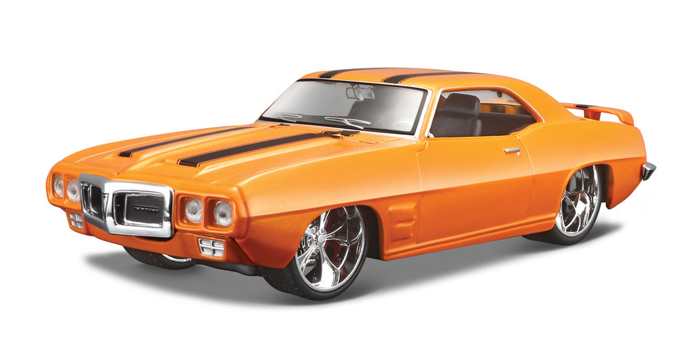31040  1969 Pontiac Firebird, oranje, Maisto
