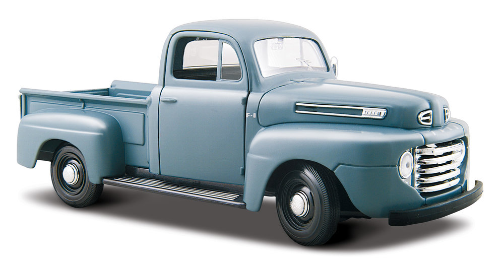 31935G    1948 Ford F-1 Pick-Up, grijs, Maisto