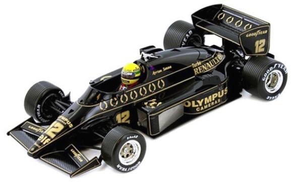 "SENR18001  Lotus Renault 97T ""Ayrton Senna 1985 GP Portugal"", PremiumX"
