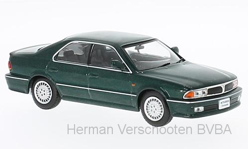 F43-055    Mitsubishi Diamante 1990, groen, First 1:43 Models