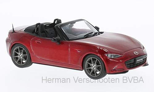 F43-069    Mazda MX-5 2015, rood, First 1:43 Models