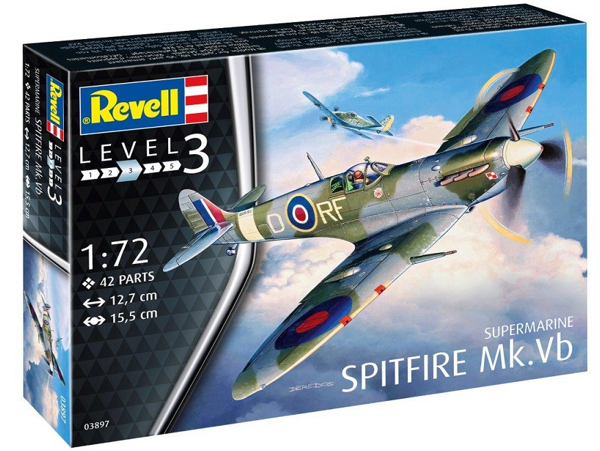 3897  Supermarine Spitfire Mk. Vb