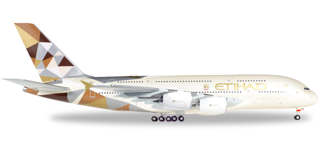 "557092-001    Airbus A380-800 ""Etihad Airways"", Herpa Wings"