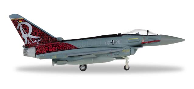 "558198    Eurofighter Typhoon ""Luftwaffe Richthofen"", Herpa Wings"