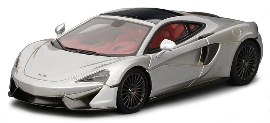 TSM430255  McLaren 570GT 2016, zilver, TrueScale Miniatures