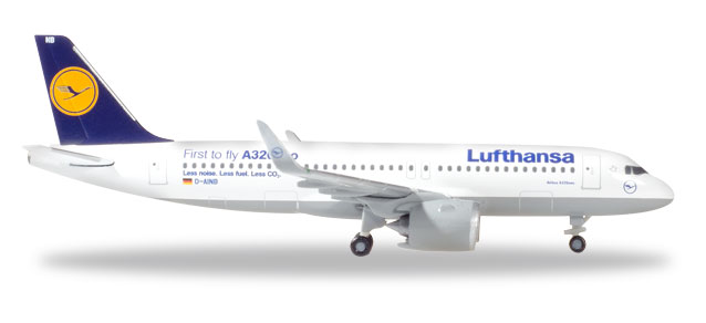 "530729    Airbus A320neo ""Lufthansa, First To Fly"", Herpa Wings"