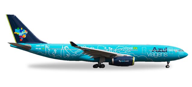 """530927  Airbus A330-200 """"Azul Viagens"""", Herpa Wings"""