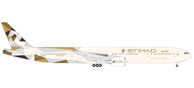 "531030    Boeing 777-300ER ""Etihad Airways"", Herpa Wings"