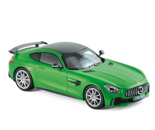 351349  Mercedes-Benz AMG GT R 2017, groen mat met., Norev