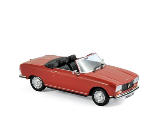 473412  Peugeot 304 Cabriolet S 1973, rood, Norev