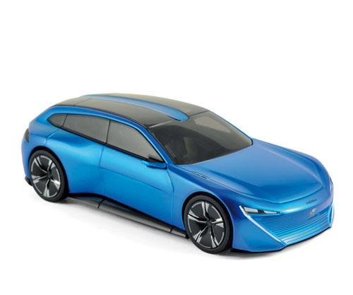 """473893  Peugeot Instinct Concept """"Salon de Genève 2017"""", Norev"""
