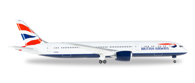 "528948-001    Boeing 787-9 D. ""British Airways G-ZBKM"", Herpa Wings"
